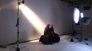 Hilda Burkitt (Faisa) and Ellen Barnwell (Najma) in prison